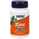 NOW Foods Zinc Gluconate 50MG 100 Tablets