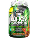 MuscleTech All-in-One Whey + Greens 2lbs Milk Chocolate