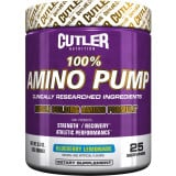 Cutler Nutrition 100% Amino Pump 25 Servings Blueberry Lemonade