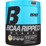 Beast Sports BCAA Ripped Black 20 Servings Coconut Cream