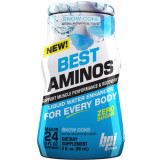 BPI Sports Best Aminos Liquid Water Enhancer 6 Pack/ 24 Servings Each Snow Cone