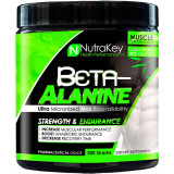 NutraKey Beta-Alanine Powder 100 Servings Unflavored