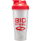 BioSteel BlenderBottle 1 Red/Clear Bottle