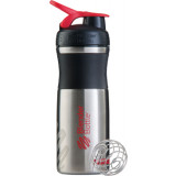 Sundesa BlenderBottle SportMixer Stainless 28oz Black/Red