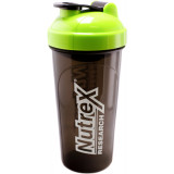 Nutrex Shaker Bottle 25oz Bottle Green/Black