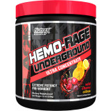 Nutrex Hemo-Rage Under Ground - 30 Servings Wild Cherry Citrus
