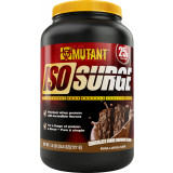 Mutant IsoSurge Whey Protein 1.6lbs Chocolate Fudge Brownie