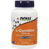 NOW Foods L-Carnitine - 1,000mg/50 Tablets