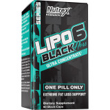 Nutrex Lipo-6 Black Hers Ultra Concentrate 60 Capsules