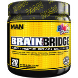 MAN Sports BrainBridge 20 Servings Rainbow Sherbet