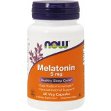 NOW Foods Melatonin 5mg - 60 VCapsules