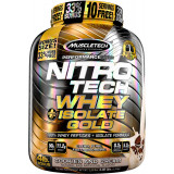 MuscleTech Nitro-Tech Whey Plus Isolate Gold 4lbs Cookies & Cream