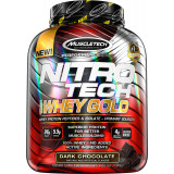 MuscleTech Nitro-Tech 100% Whey Gold 2.2lbs Dark Chocolate