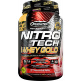 MuscleTech Nitro-Tech 100% Whey Gold 2.2lbs Strawberry