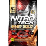 MuscleTech Nitro-Tech 100% Whey Gold 8lbs Double Rich Chocolate