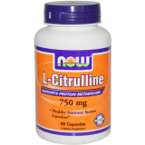NOW Foods L-Citrulline - 90 Capsules