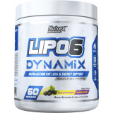 Nutrex Lipo-6 Dynamix 60 Servings Blackberry Lemonade