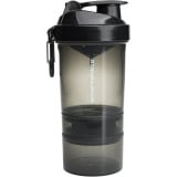 SmartShake Original2GO Series Shaker 20oz. Gunsmoke Black