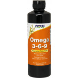 NOW Foods Omega 3-6-9 Liquid - 16 Fl. Oz.