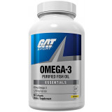 GAT Sport Omega-3 90 Lemon Softgels