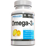 PEScience  Omega-3+ 120 Softgels