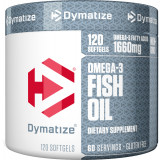 Dymatize Omega 3 Fish Oil 120 Softgel Capsules