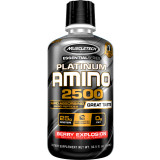MuscleTech Essential Series Platinum Amino 2500 12 Servings Berry Explosion