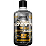 MuscleTech Essential Series Platinum 100% L-Carnitine 1500 30 Servings Citrus Splash