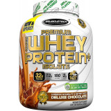 MuscleTech Premium 100% Whey Protein Plus Isolate 3lbs Chocolate MARC