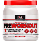 AML Preworkout 20 Servings Fruit Punch Stimulant-Free