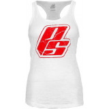 ProSupps Strong Burnout Tank Small White