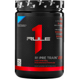 Rule 1 R1 Pre Train 2.0 25 Servings Blue Raspberry