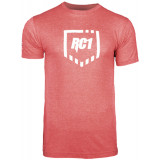 Redcon1 Shield with X on Sleeve Medium Red