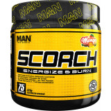 MAN Sports Scorch Powder 75 Servings Mango