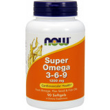 NOW Super Omega 3-6-9, 90 Softgels