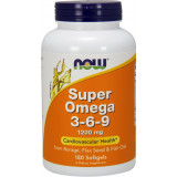 NOW Foods Super Omega 3-6-9 - 180 Softgels
