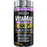 MuscleTech Vitamax Energy & Metabolism SX-7 Black Onyx for Women 120 Capsules