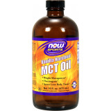 NOW Sports MCT Oil 16 fl. oz. Vanilla Hazelnut