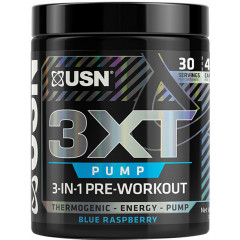 USN 3XT-Pump 30 Servings Blue Raspberry