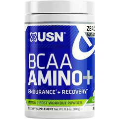 USN BCAA Amino+ 30 Servings Green Apple