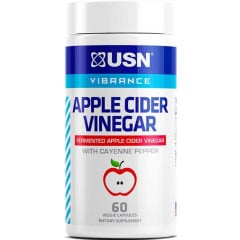USN Apple Cider Vinegar w/ Cayenne Pepper - 60 Veggie Capsules
