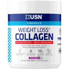 USN Weight Loss Collagen Peptides 30 Servings Mixed Berry
