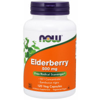 Elderberry 500mg, 120 VCapsules