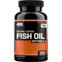 Fish Oil Softgels, 100 Softgels
