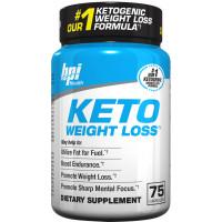 BPI Keto Weight Loss, 75 Capsules