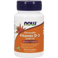 Vitamin D-3 5,000IU, 120 Softgels