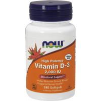 Vitamin D-3 2000IU, 240 Softgels