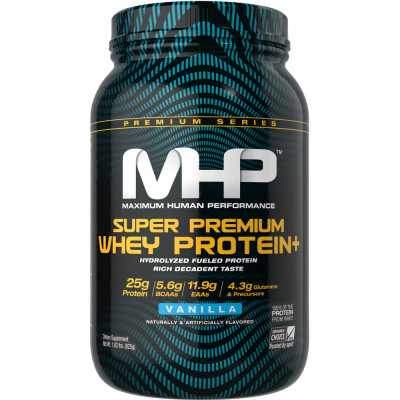 MHP Super Premium Whey Protein+ 2lbs: Buy 1 Get 1 FREE!