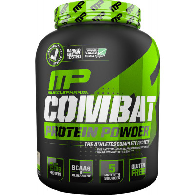 MusclePharm Combat Protein Powder $29.99 For 4lbs Tub and a FREE Shaker!