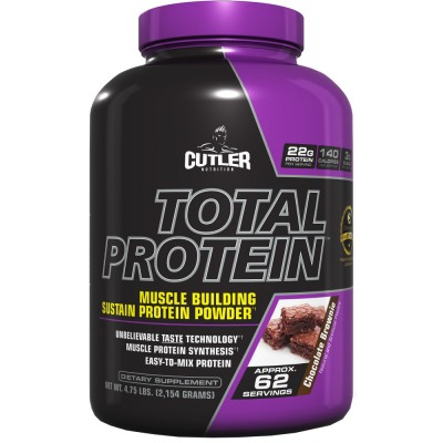 Cutler Nutrition Total Protein $32.99 For 5lbs Tub!